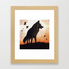Dark Beauty Framed Art Print