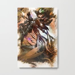 League of Legends KLED Metal Print