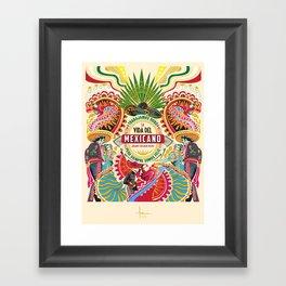 La Vida del MEXICANO Framed Art Print