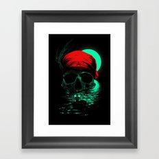 Treasure Hunting Framed Art Print