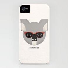 Holla Koala iPhone (4, 4s) Slim Case