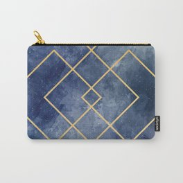 Space geometric Carry-All Pouch