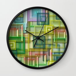Color shade Wall Clock
