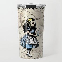 Alice in Wonderland We're All Mad Here Travel Mug