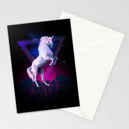 The last laser unicorn Stationery Cards