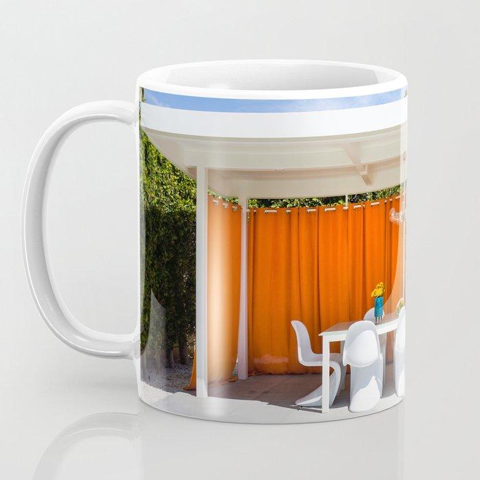 Orange Al Fresco Coffee Mug