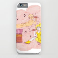 Ghost and Girl- Mellow Yellow iPhone 6s Slim Case
