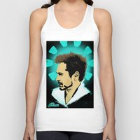 stark Tank Tops featuring Tony Stark. by Tomcert