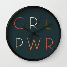 GRL POWER Wall Clock