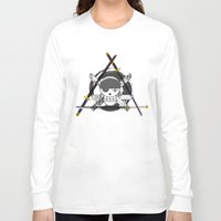 one piece Long Sleeve T-shirts featuring Zoro's Katanas - One Piece by josemaHdeH