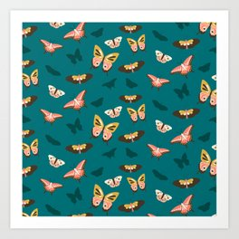 Butterfly Swarm Art Print