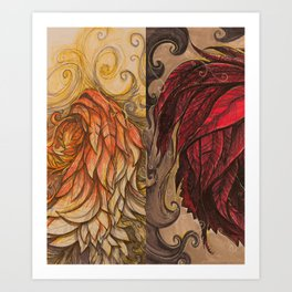 The Beast - 04 Art Print