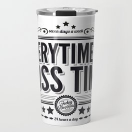 Every time is Boss time (Springsteen tribute) Travel Mug