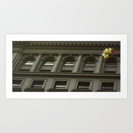 Architecture. Art Print