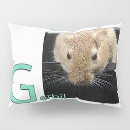 Gerbil Poster Pillow Sham