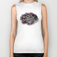 dick Biker Tanks featuring Total Dick by Call me Calliope