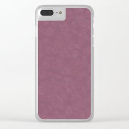 Cannon Pink Falcon Clear iPhone Case