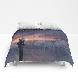 Ten Thousand Snowflakes Comforters