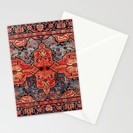 Kashan Poshti Central Persian Rug Print Stationery Cards