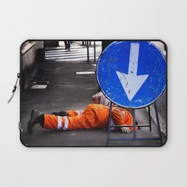ATTENTION! Here head in action. Laptop Sleeve