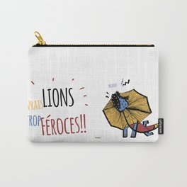 Zodiac Lion Carry-All Pouch