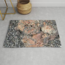 Iceland Rocks: Red Rhyolite Edition Rug