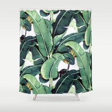 Martinique Print Shower Curtain