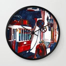 Calcada do Ferragial Lisbon Portugal Wall Clock