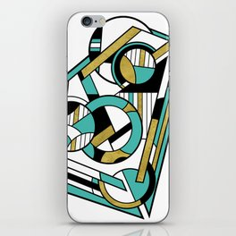 Partridge - Geometric Abstract Digital Design iPhone Skin
