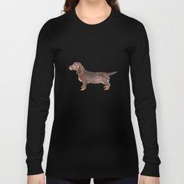 Brown Dachshund Long Sleeve T-shirt