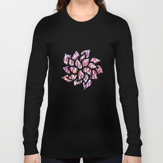 Petals Pattern #3 Long Sleeve T-shirt