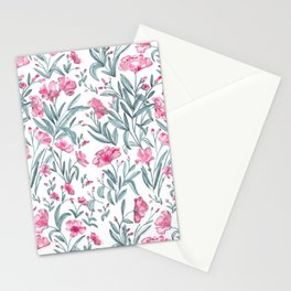 Nerium Oleander Pattern Stationery Cards