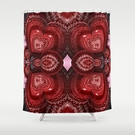 Filled With Love Shower Curtain