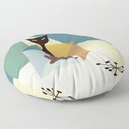 Schrodinger's cat Floor Pillow