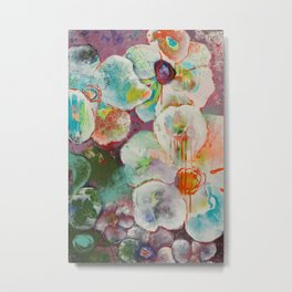 Floating & Drifting Metal Print