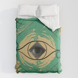 In the Eye of the Beholder Comforters