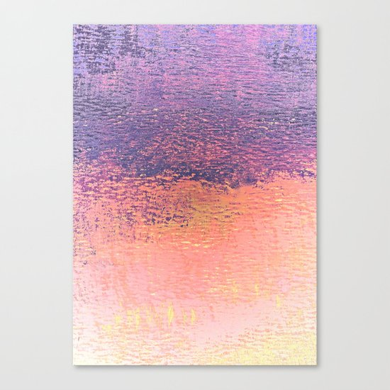 Playing With Pink And Purple Clouds Canvas Print