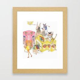 cmbs- ry Framed Art Print