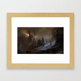 Careless Stalkers Framed Art Print
