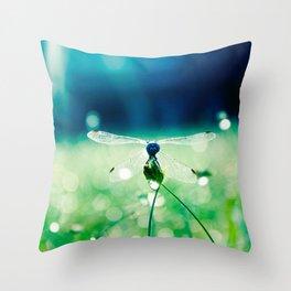 Downtime Doze Throw Pillow