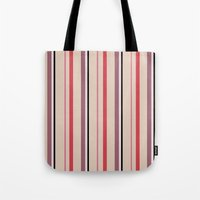 stripe Tote Bags featuring Stripe by Tayler Willcox