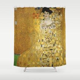 Gustav Klimt Woman in Gold Shower Curtain