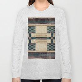 V43 Old Epic Moroccan Carpet Design Long Sleeve T-shirt