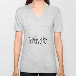 The Ministry of Fear Unisex V-Neck