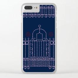 stitched gate Clear iPhone Case
