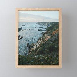 Point Arena Lighthouse Framed Mini Art Print