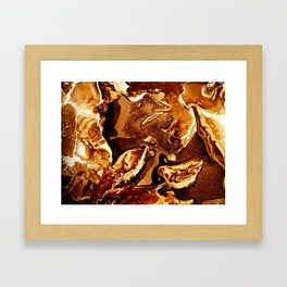 Parched Lands Framed Art Print
