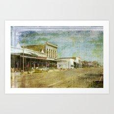 Any Town USA Art Print
