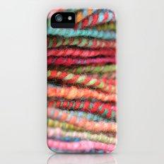 Handspun Yarn Color Pattern by robayre iPhone (5, 5s) Slim Case