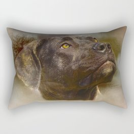 I Love My Perro de Presa Canario Rectangular Pillow